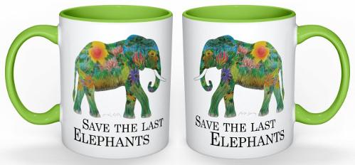 Ongekend Tassen mit Elefantenmotiven (selbstgemacht) › Mayday Elefanten TW-02