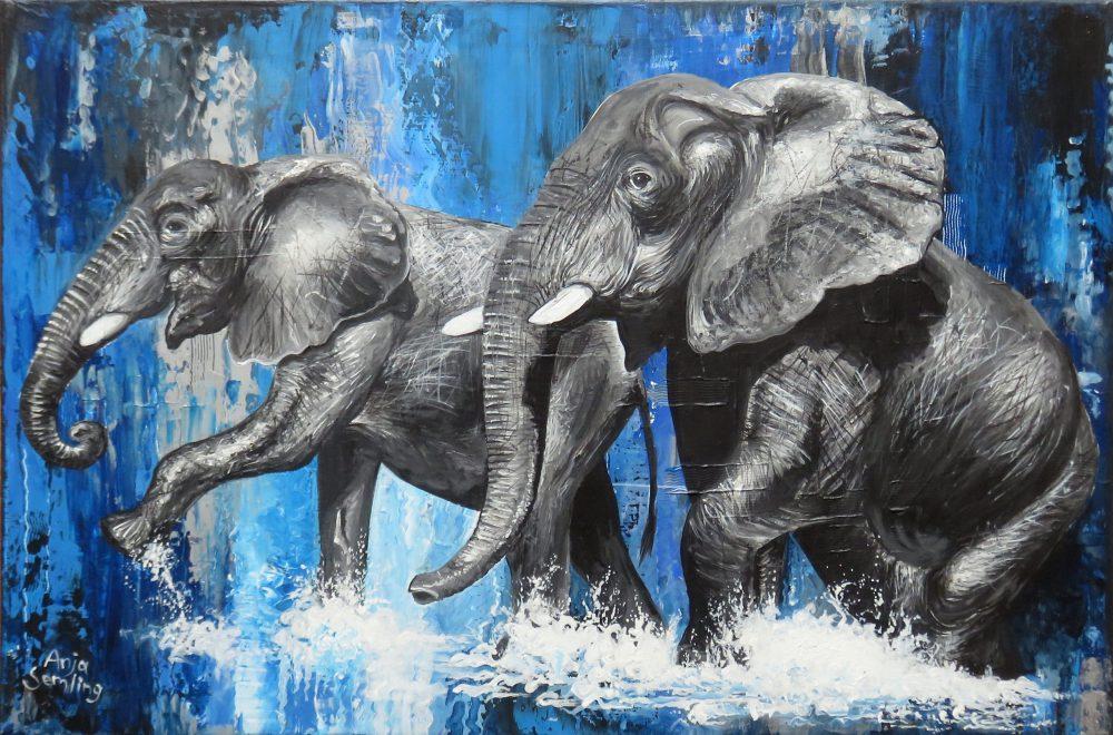 Elefanten Gemälde